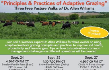 Principles & Practices of Adaptive Grazing