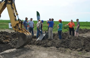 Conservation Drainage Training Recruits 2019 Participants: Central Illinois training dives into edge-of-field practices