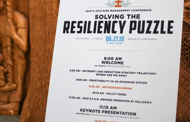 ISAP Risk Management Conference: Solving the Resiliency Puzzle