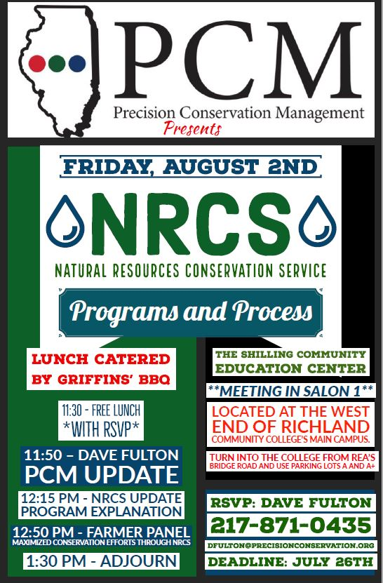 PCM Quarterly Meeting – NRCS Programs and Process - Illinois