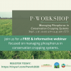 SAVE THE DATE | PHOSPHORUS MANAGEMENT WORKSHOP | 9.3.2020